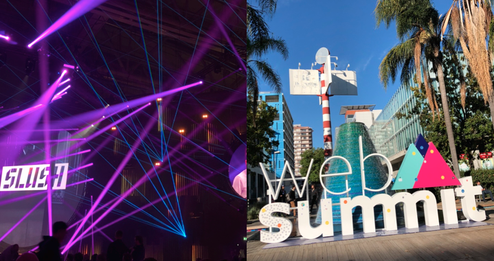 Web Summit versus Slush