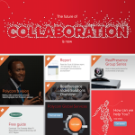 Landing Page of Polycom Collaborate Campaign